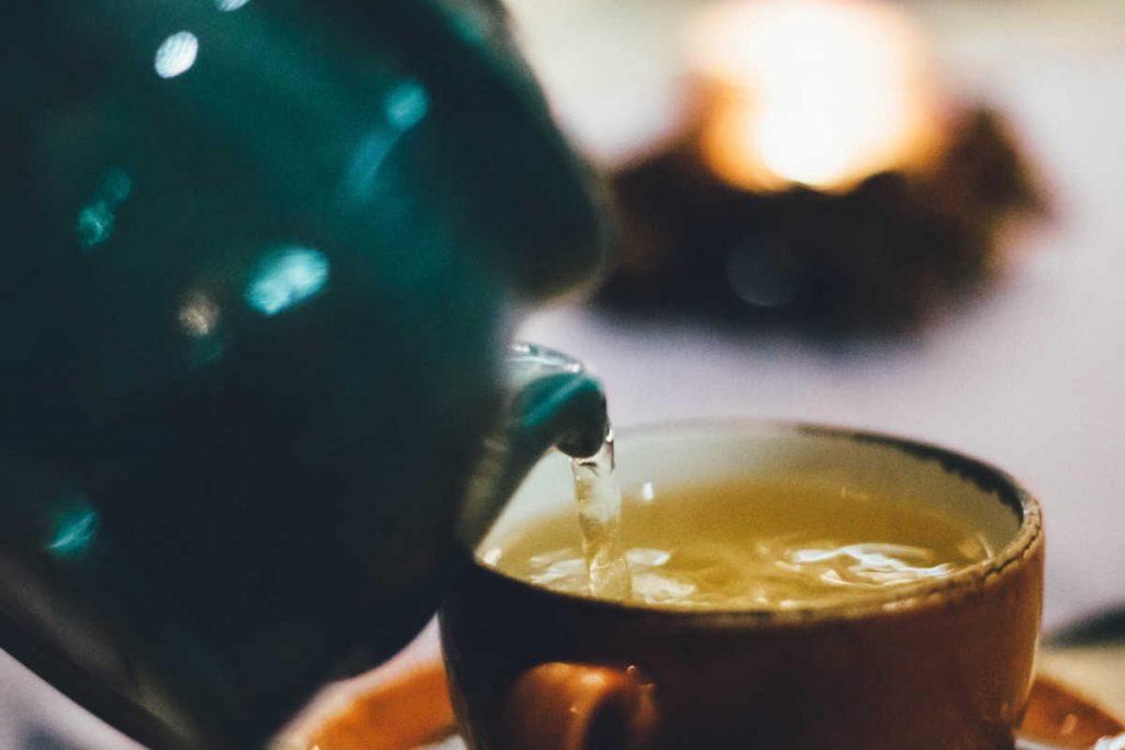 czy zielona herbata jest zdrowa?